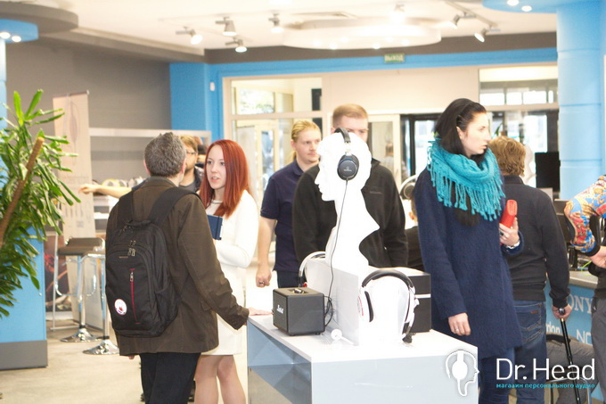 Открытие нового магазина dr.head на Новом Арбате 11