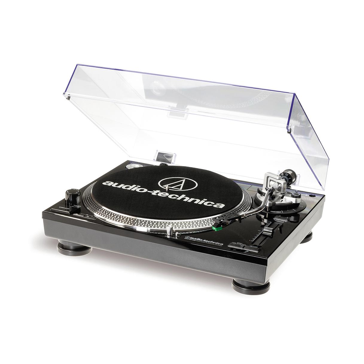Купить виниловый проигрыватель audio-technica at-lp120-usb hc black по цене от 28890 руб., характеристики, фото, доставка