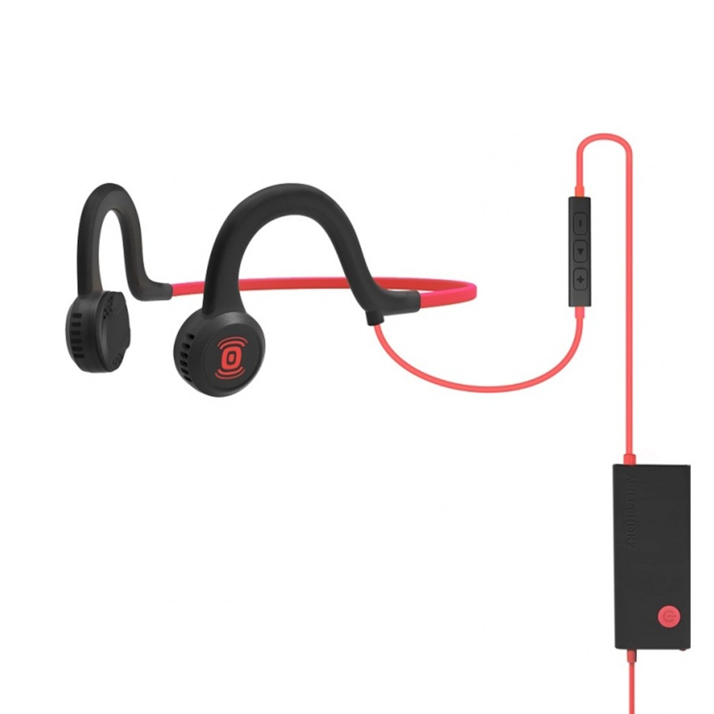 Купить наушники aftershokz sportz titanium with mic lava red по цене от 3990 руб., характеристики, фото, доставка