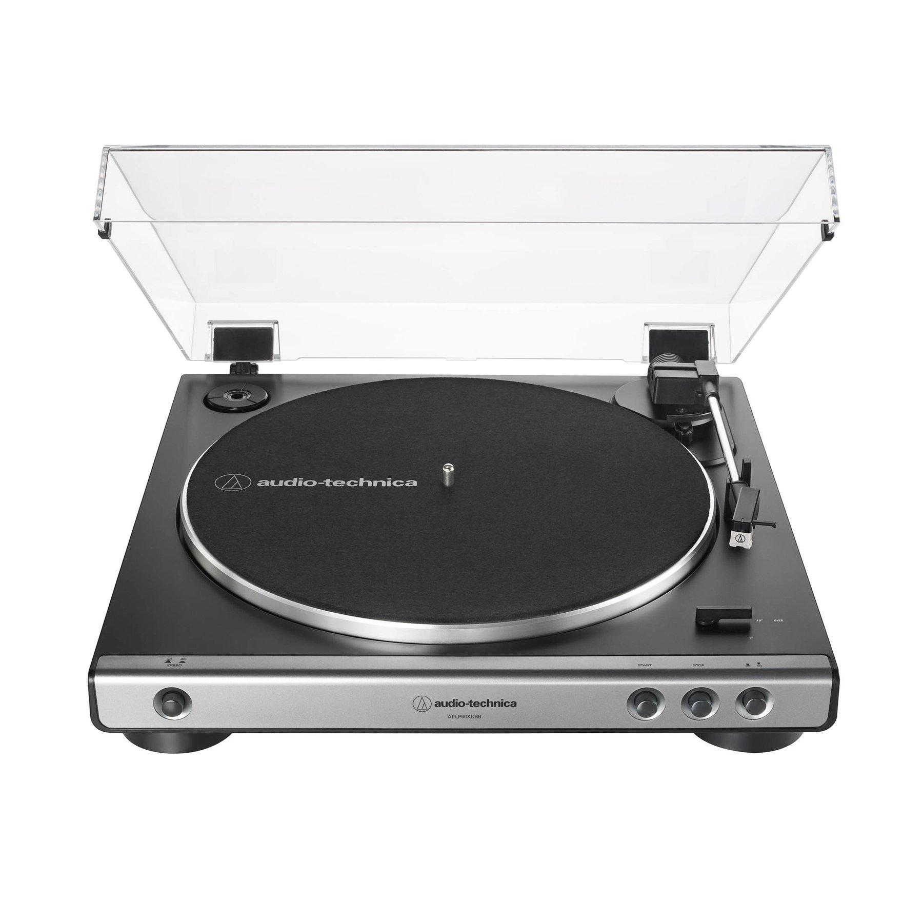 Купить виниловый проигрыватель audio-technica at-lp60x usb gun metal по цене от 13990 руб., характеристики, фото, доставка