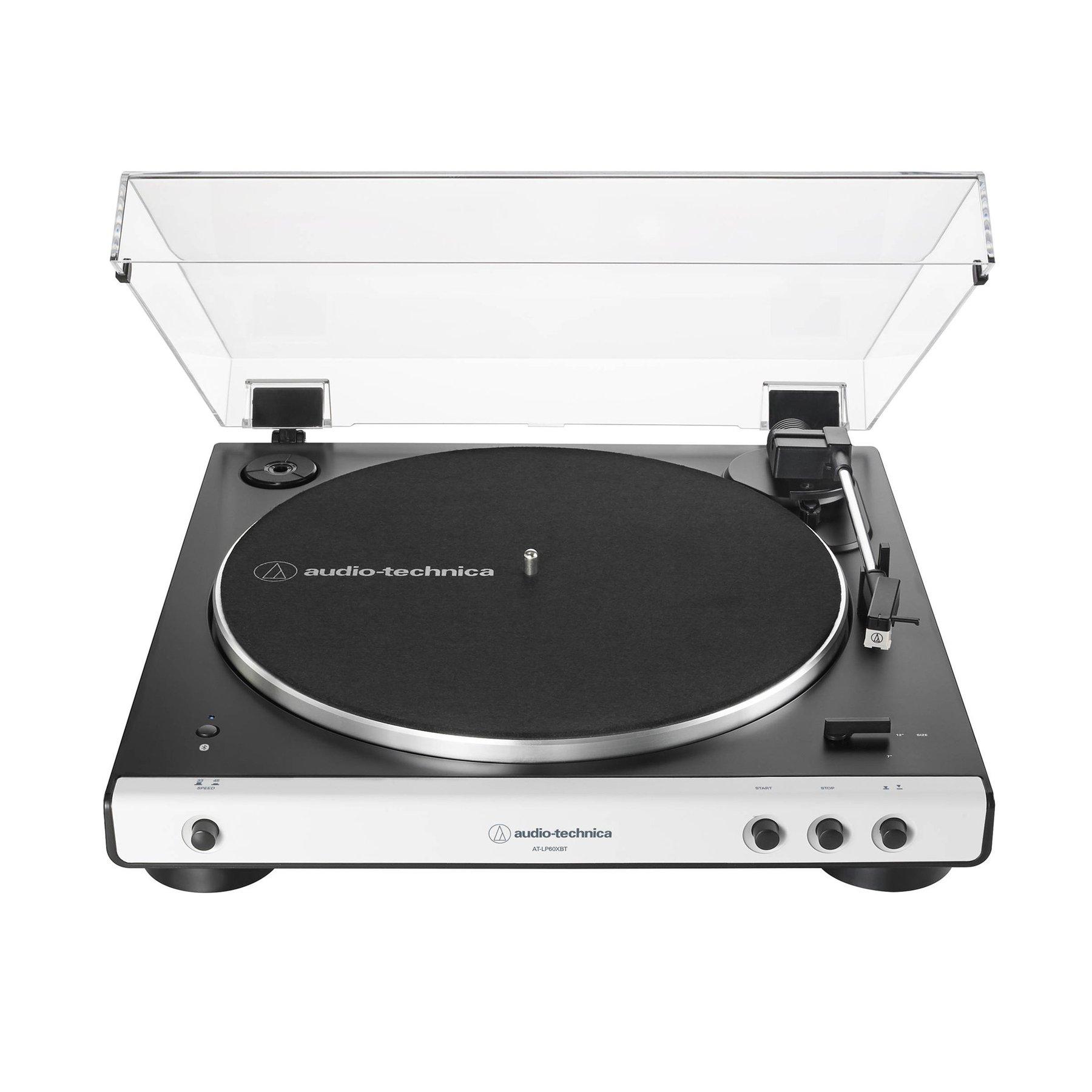 Купить виниловый проигрыватель audio-technica at-lp60xbt white по цене от 19990 руб., характеристики, фото, доставка