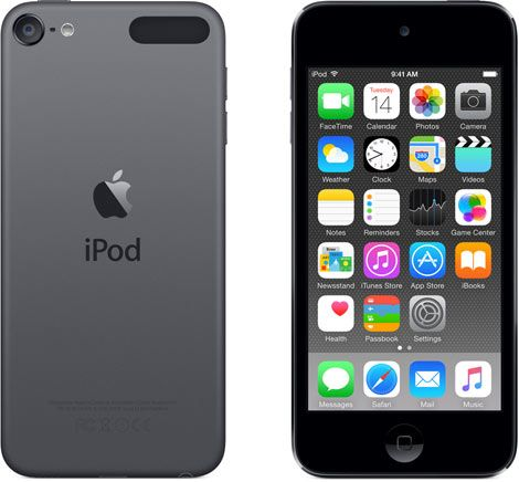 Плеер Apple iPod touch 16GB - Space Gray (6th GEN)