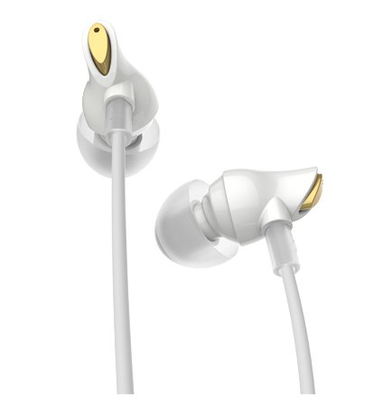 Наушники Rock Zircon Stereo Earphone White - рис.1