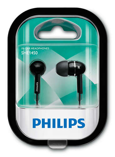 Наушники Philips SHE1450BK/51 - рис.2