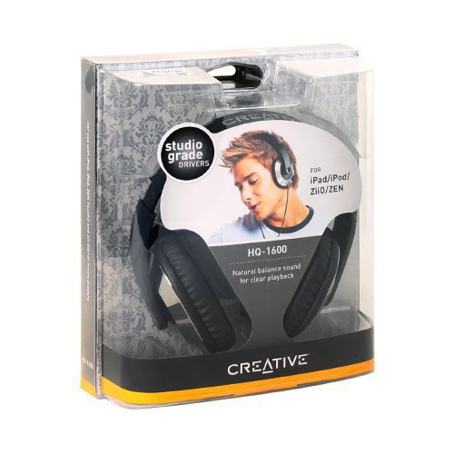 Наушники Creative HQ-1600 black - рис.2
