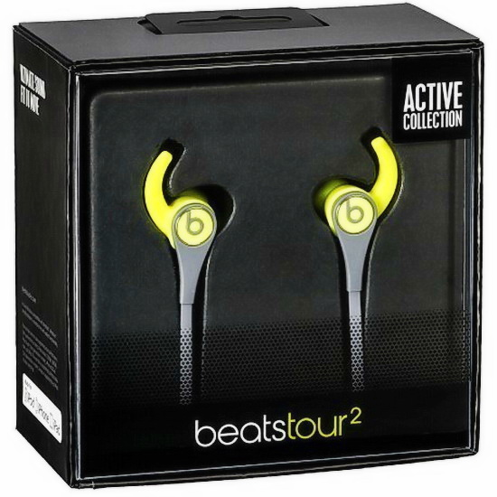 Наушники Beats Tour2 In-Ear Active Collection yellow - рис.7