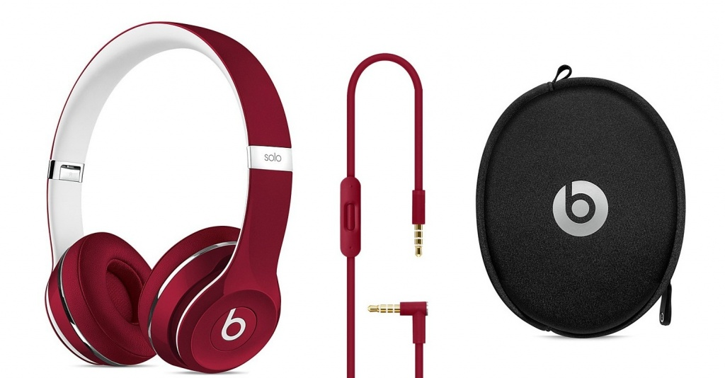 Beats Solo 2 Luxe Edition Red