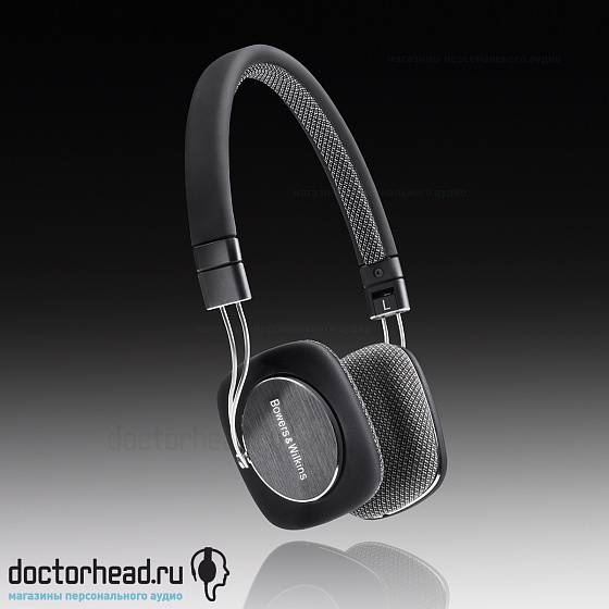 Наушники Bowers & Wilkins P3 Black - рис.1