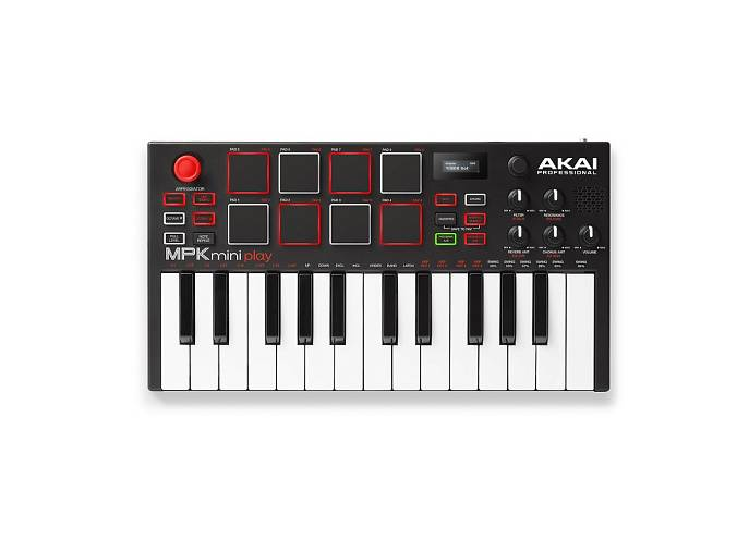 MIDI-клавиатура AKAI PRO MPK MINI PLAY USB