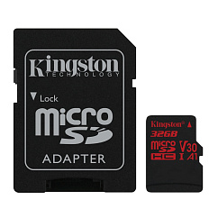 Карта памяти Kingston Canvas React 32GB