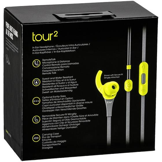 Наушники Beats Tour2 In-Ear Active Collection yellow - рис.8