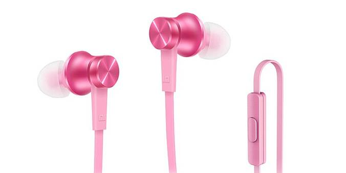 Наушники Xiaomi Mi Piston Basic Edition Pink - рис.1