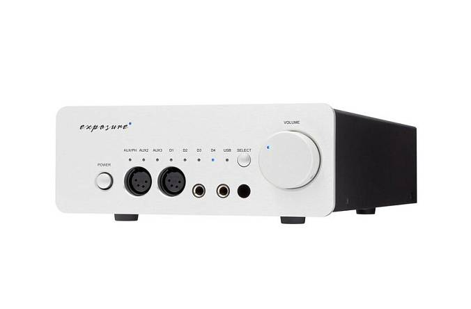 Усилитель Exposure XM HP Headphone Amplifier Silver - рис.1