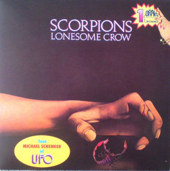 Пластинка Scorpions - Lonesome Crow
