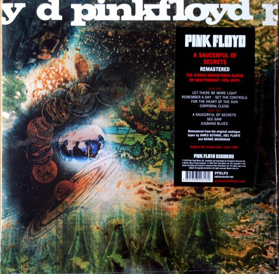 Пластинка Pink Floyd - A Saucerful Of Secrets