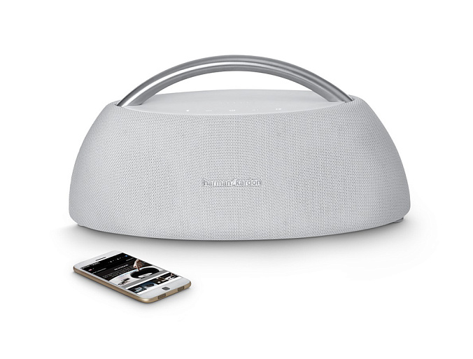 Портативная колонка Harman/Kardon Go + Play Wireless Mini White - рис.3