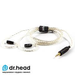 Кабель Labkable Silver Galaxy 4wire for Sennheiser IE80 2.5mm
