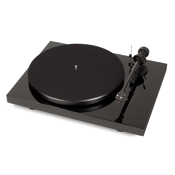 Виниловый проигрыватель Pro-Ject Debut Carbon Phono USB OM-10 Piano Black