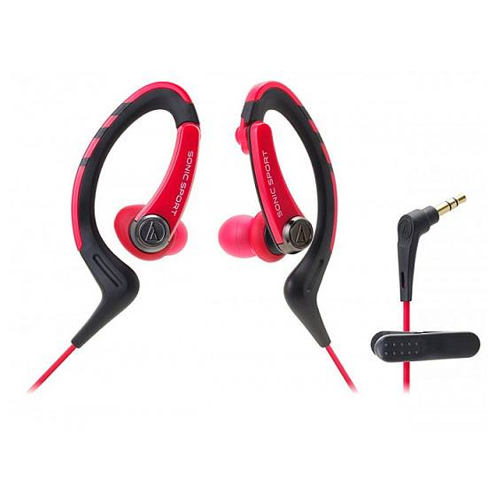 Наушники AUDIO-TECHNICA ATH-SPORT1 Red