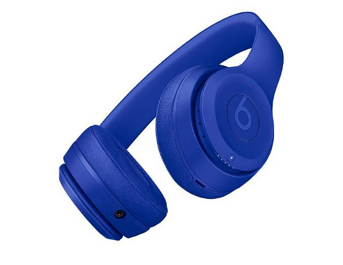 Беспроводные наушники Beats Solo 3 Wireless Neighborhood Collection Break Blue - рис.1