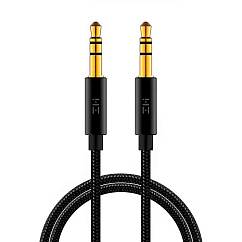 Кабель Xiaomi AUX 3.5mm ZMI Audio Cable Black 1m