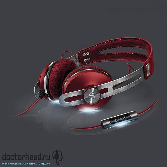 Наушники Sennheiser Momentum On-Ear Red - рис.3