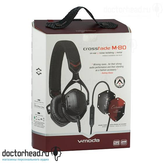 Наушники V-Moda Crossfade M-80 Shadow - рис.7