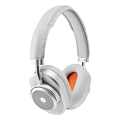Беспроводные наушники MASTER&DYNAMIC MW65 Silver Metal / Grey Leather