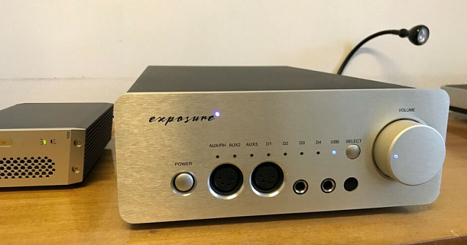 Усилитель Exposure XM HP Headphone Amplifier Silver - рис.8