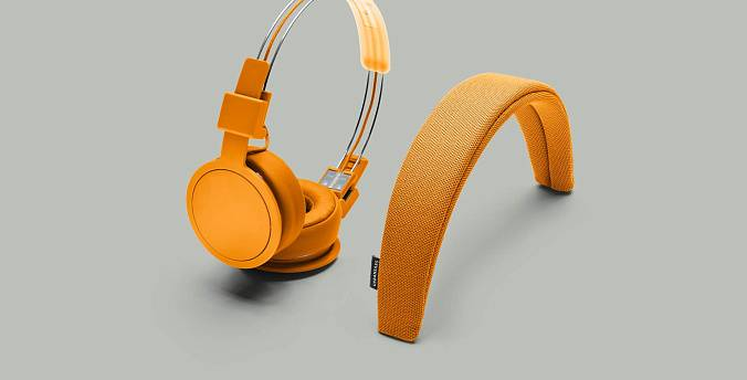 Наушники Urbanears PLATTAN ADV BONFIRE ORANGE - рис.5
