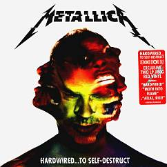 Пластинка Metallica Hardwired...To Self-Destruct coloured LP