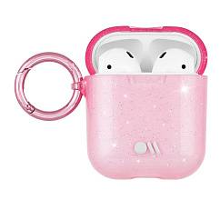Чехол для Airpods Airpods Hook Ups Case Crystal Pink