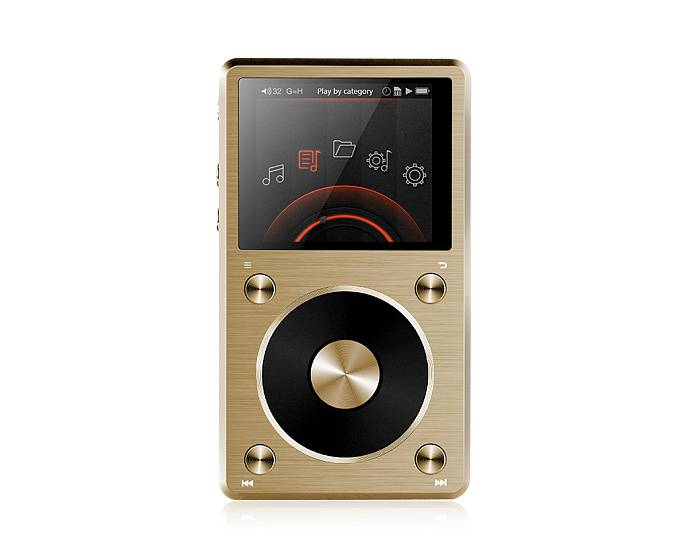Плеер FIIO X5 II Gold Limited Edition - рис.1