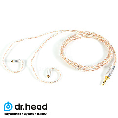 Кабель Labkable Silver Galaxy Mix II (8 wire) mmcx - Jack 3.5