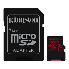 Карта памяти Kingston Canvas React 512GB