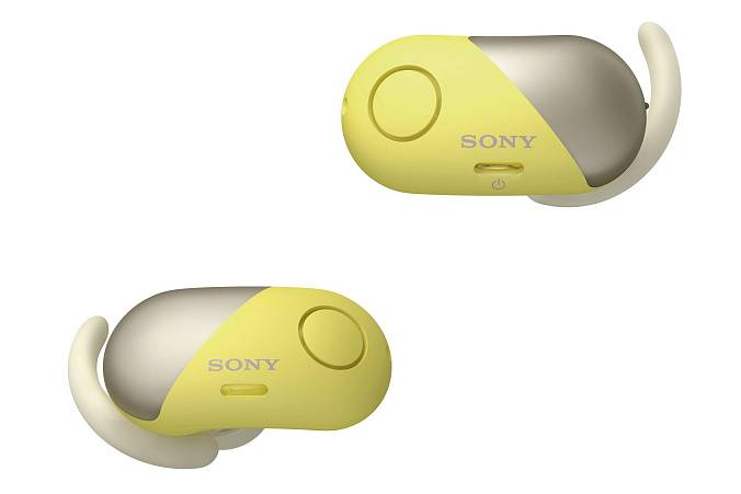 Наушники Sony WF-SP700N Yellow - рис.2