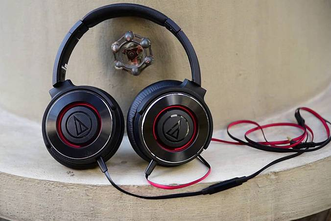 Наушники Audio-technica ATH-WS550iS BRD - рис.6