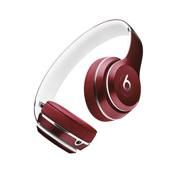 Наушники Beats Solo 2 Luxe Edition Red