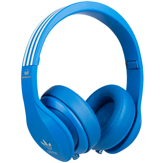 Наушники MONSTER ADIDAS® ORIGINALS OVER EAR HEADPHONES (BLUE)