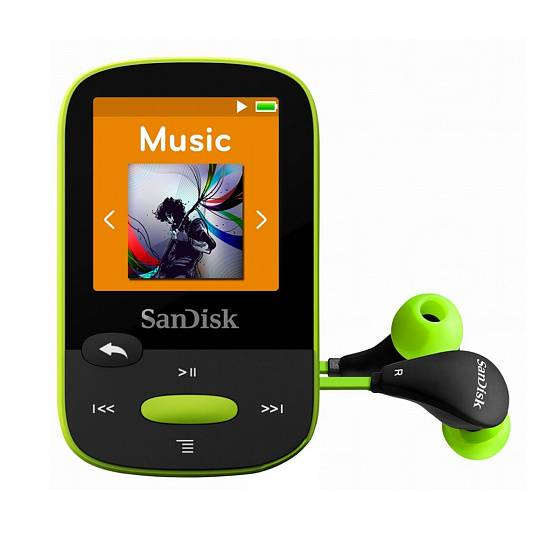 Плеер SanDisk Sansa Clip Sports 8GB Lime