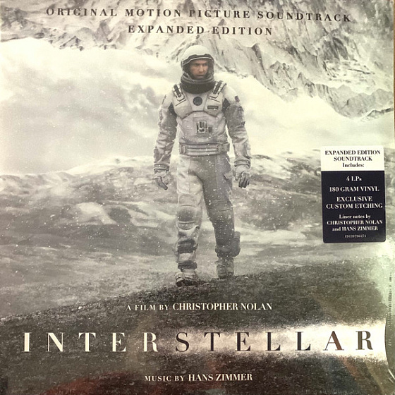 Кабель Hans Zimmer - Interstellar (Original Motion Picture Soundtrack Expanded Edition) LP