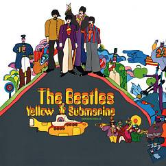 Пластинка THE BEATLES YELLOW SUBMARINE