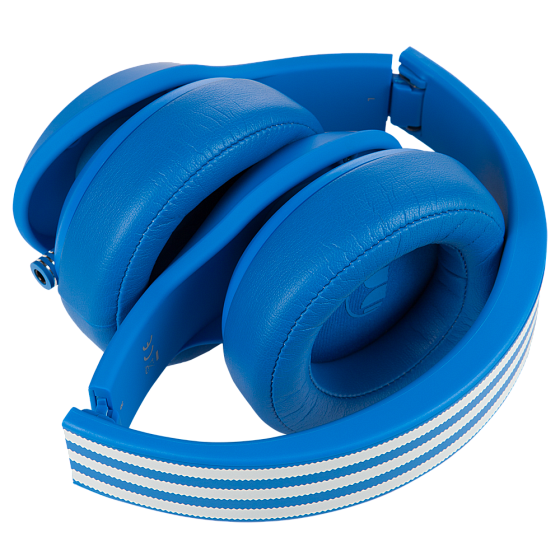 Наушники MONSTER ADIDAS® ORIGINALS OVER EAR HEADPHONES (BLUE) - рис.4