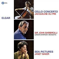 Пластинка Elgar; Jacqueline Du Pr?; Sir John Barbirolli; London Symphony Orchestra; Janet Baker - Cello Concerto  Sea Pictures