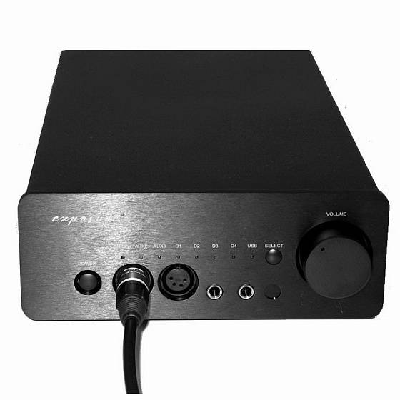 Усилитель Exposure XM HP Headphone Amplifier Silver - рис.9
