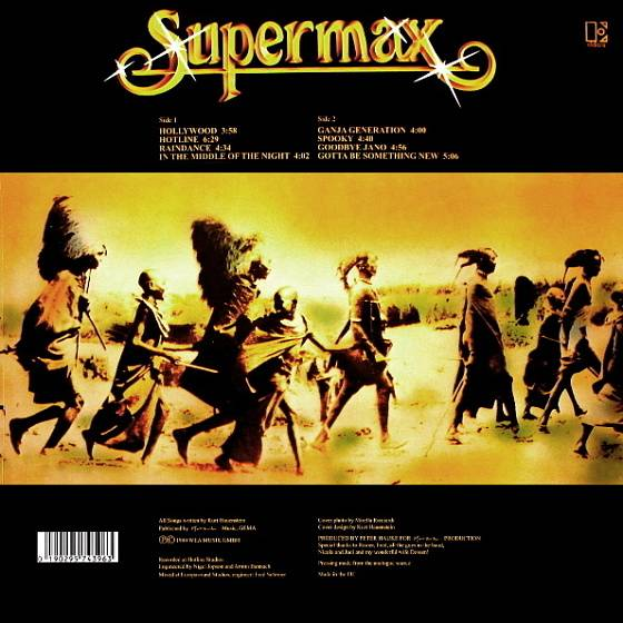 Пластинка SUPERMAX TYPES OF SKIN LP - рис.1