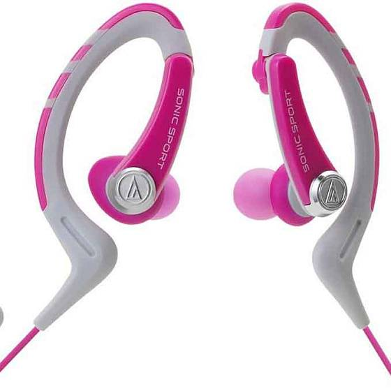 Наушники AUDIO-TECHNICA ATH-SPORT1iS Pink