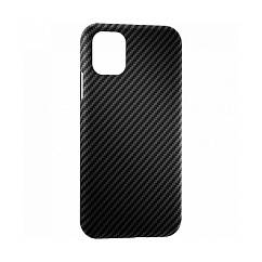 Чехол для смартфонов Lyambda Annet Mancini Carbon Series for iPhone 12 и 12 Pro Matte Black