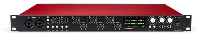 Аудиоинтерфейс FOCUSRITE Scarlett 18i20 USB 2nd Gen - рис.2