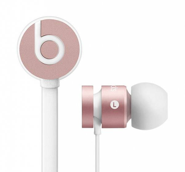 Наушники Beats urBeats 2 In-Ear Rose gold